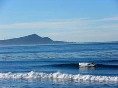 Surfing in Ensenada
