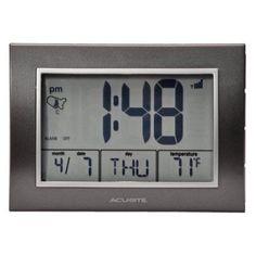 AcuRite Atomic Desk Clock