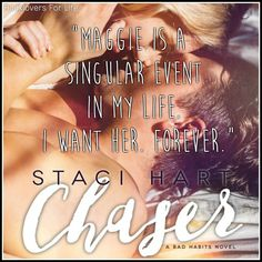 Chaser (Bad Habits #2) by Staci Hart ♥ (Click to read my review) #book #quote
