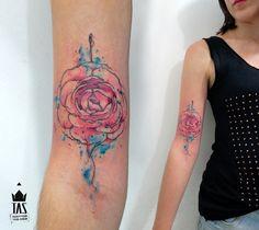 Rodrigo Tas cria aquarelas, personagens, letras e cores fantásticas na pele: http://followthecolours.com.br/tattoo-friday/tattoofriday-rodrigo-tas/