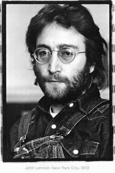 John Lennon, New York City 1970 photo by Annie Leibovitz