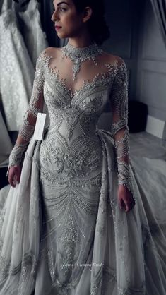 Stunning Wedding Dresses, Dream Wedding Dresses, Beautiful Gowns, Wedding Gowns, Gorgeous Dress, Bridal Outfits, Bridal Dresses, Couture Dresses, Fashion Dresses