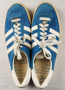 1970s Adidas Gazelle suede sneakers Size 7.5