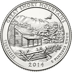 2014 ATB 5 oz Great Smoky Mountains NP Tennessee WITH NEW Air-Tite Holder