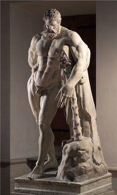 Glykon, IIIe s., Hercule Farnèse d'après Lysippe