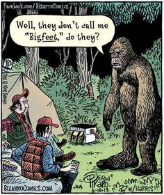 Plan a BigFoot party with all of these fun Big Foot games! Hunt for Big foot and have some fun with friends while you serach for this mythical creature. Bizarro Comic, Funny Shit, Funny Jokes, Funny Stuff, Funny Cartoons, Funny Comics, Bigfoot Party, Grammar Humor, Biology Humor