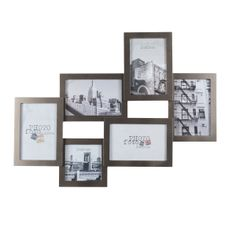 Cadre photo gris 9 vues Nolan MAISON DU MONDE | plan de table ...