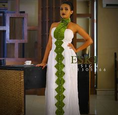 African Wedding Attire, African Attire, Ethiopian Traditional Dress, Traditional Dresses, Ethiopian Dress, Afro Punk Fashion, Style Oriental, African Wear Dresses, African Print Fashion