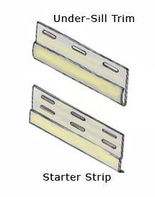 Starter Strip and Under-Sill Trim