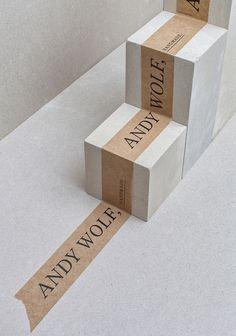 Andy Wolf Branding por Von K