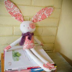 Handmade eco bunny with antiallergic by SeedsOfLoveHandmade