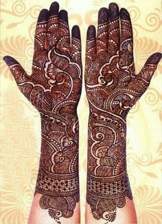 Best Henna Wedding Designs 2017 2018