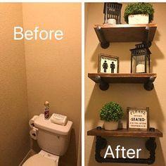 Kiana Hamlett added a photo of their purchase Bathroom Collections, Restroom Decor, Small Bathroom Decor, Bathroom Decor, Bathroom Makeover, Downstairs Bathroom, Home Decor, Bathroom Signs, Bathroom
