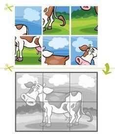 Jigsaw Puzzle with Safari Animals Puzzle games Montessori Activities, Preschool Worksheets, Preschool Learning, Kindergarten Activities, Toddler Activities, Learning Activities, Preschool Activities, Childhood Education, Kids Education