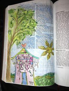 Joshua 24:15 Inspired by Joanne Fink @ Zenspirations.com
