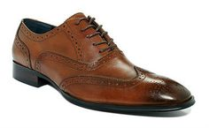 Fashion On a Budget: Macy's Alfani Wing Tip Shoes