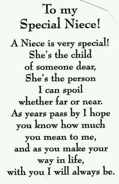 Niece Quotes pin on favorite sayings Niece Quotes. Niece Quotes why should i marry one marries to have children but i happy birthday quotes for a niece luxury lovely niece quotes my niece. My Niece Quotes, Baby Quotes, Family Quotes, Me Quotes, Quotes About Nieces, Nephew Quotes, Niece Poems From Aunt, Being An Aunt Quotes, Aunt Love Quotes