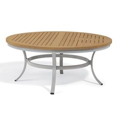Outdoor Oxford Garden Travira 48 in. Tekwood Chat Table - TV48CA