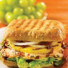 Hawaiin Chicken Panini Recipe - Key Ingredient