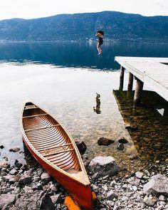 Game de se jeter à l'eau? #InfinimentCanada  : @bennnnnnnngie  #voyagevoyage #destination #canada #paysage #voyage #aventure #blogvoyage #instatravel