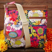 Lily Bloom, an eco-friendly handbag and accessories line focused on sustainable fashion, revels in vibrant colors and feminine prints. Each piece is made from a signature fabric created from recycled plastic bottles and encompasses a mix of expressive styles that enhance the innate style of the modern, socially conscious woman taking a step toward a better future.