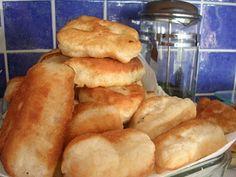 Pişi is a Turkish fried flatbread. Looks yummy!!