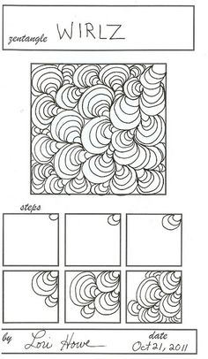 Zentangle Pattern Gallery | Zentangle Patterns 2 - a gallery on Flickr