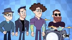 Fall Out Boy makes an appearance in Teen Titans Go!!!