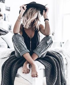 Casual bohemian style More
