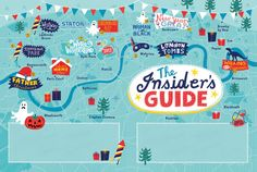 Events Map by Linzie Hunter. Client: Statoil