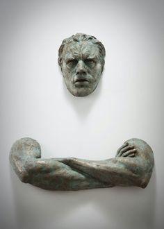 Unglaubliche, realistische Wand Skulpturen von Matteo Pugliese