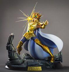 ToyzMag.com » SAINT SEIYA Aiolia du LION HQS par TSUME ART