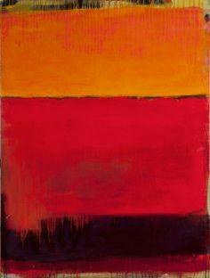 "Incantation Acrylic 48"" x 36"" by Rachel Volpone"