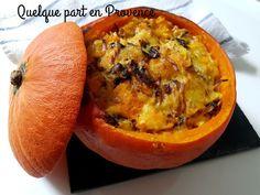 POTIMARRON AUX CHANTERELLES ET CANTAL Quiche, Cantaloupe, Mashed Potatoes, Fruit, Breakfast, Mozarella, Ethnic Recipes, Food, Challenge