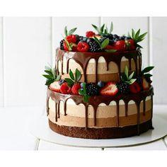 22 Ideas Fruit Cake Cupcakes Baking For 2019 Food Cakes, Cupcake Cakes, Oreo Cupcakes, Cake Fondant, Sweets Cake, Cake Recipes, Dessert Recipes, Baking Desserts, Cake Baking