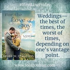 First Line Friday | Week 165 | For the Love of Joy by Janet W Ferguson