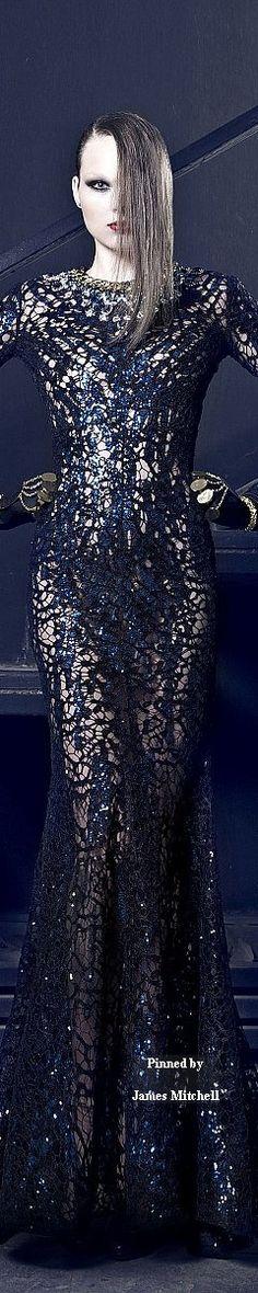Nicolas Jebran Couture Fall-winter 2014-2015.