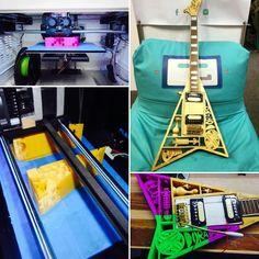 Something we liked from Instagram! Así se fabricó la primera guitarra impresa en 3D de Colombia. Diseñada por Javier Muñoz e inspirada en diseños precolombinos. #3Dprinting #3DPrinter #technology #guitar #music #bogota #impresion3d #makerspace #making #makersColombia #bogota #precolombino by uncuartotech check us out: http://bit.ly/1KyLetq