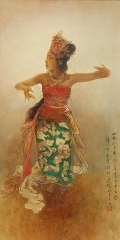 Girl dancing painting artists 32 ideas for 2019 Bali Painting, Lion Dance, Dance Paintings, Indonesian Art, Oriental, Girl Dancing, Beautiful Drawings, Vintage Travel Posters, Art Portfolio