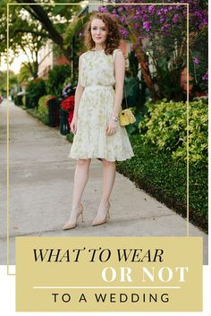 7 Rules for What to Wear to a Wedding on kyleneverywear.com