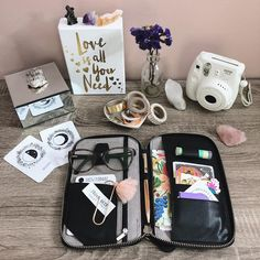One of my favorite places to be is at my desk. Every inch of that space is an extension of me and my creativity. It's where I plant seeds… Canvas Book Bag, Moon Deck, Fashion Corner, Planting Seeds, Filofax, Horns, Lunch Box, Photo And Video, Creative