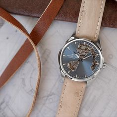 Sized perfectly for the female wrist, the Jazzmaster Open Heart 36mm has a sophisticated creativity that shines.