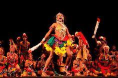 Espetáculo Memórias do balé de #Cultura Negra do #Recife na 10° Mostra Brasileira de Dança
