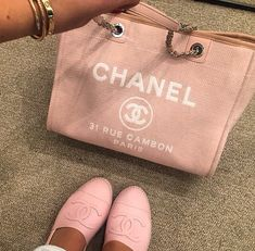 Pastel pink Chanel