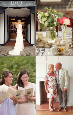 -- Kirsty&Tom -- Bride & Bridesmaids HAIR by SGR Vintage Hair & Makeup