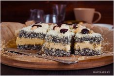 makowa panienka ciasto