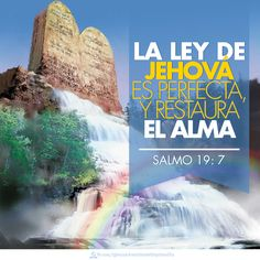 Psalm 19:7 - The instructions of the Lord are perfect, reviving the soul.  #salmos #biblia
