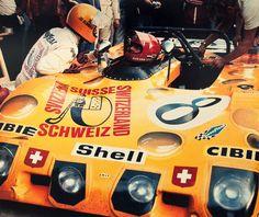Lola T 280, Jo Bonnier. Le Mans 1972. Bonnier's last race.