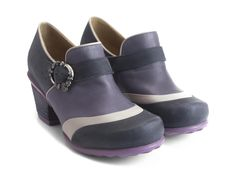"""In times of gentle sorrow and severe Vog scarcity, what you need is a little Faith. Soul-soothing, slip-on Hopeful heels that are loyal to the Family's polished dreamboat vibe, they feature a contrast wave pattern over the foot, a sturdy 2.25"""" leather wrapped heel, rubber soles and a single strap with a custom rose buckle. Trust in their relaxed elegance and they'll do you no wrong. F is for all things that give hope.Made in Portugal Smooth and dusty nappa leathers Custom JF brushed sil..."""