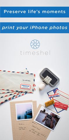 The perfect way to hold on to experiences. Use the timeshel iOS app to receive beautiful prints each month- straight from your phone to your door.